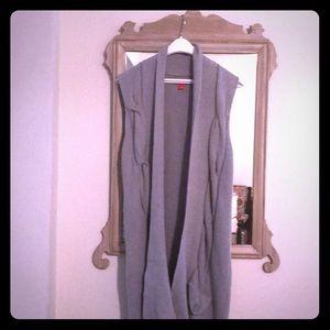 ELLE long knit vest